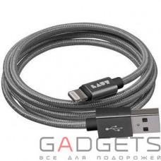 Кабель для передачи данных Laut Charge/Sync Cables Gun Metall (LAUT_LKM_LTN1.2_GM)