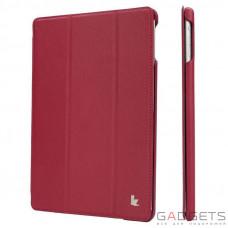 Jison Case PU Smart Case Rose for iPad Air (JS-ID5-09T34)