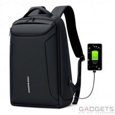 Рюкзак для ноутбука ROWE Business Style Backpack, Black