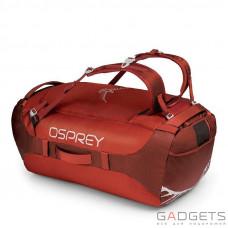 Сумка Osprey Transporter 95 Ruffian Red O/S красный