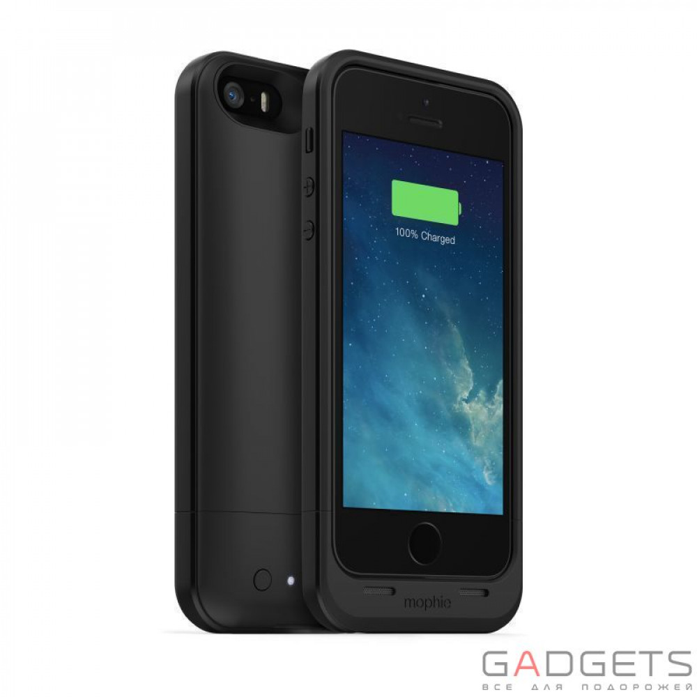 Фото Mophie Juice Pack Air Case Black 1700 mAh for iPhone 5/5S (2385-JPA-IP5-BLK-I)