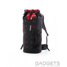 Гермомішок-рюкзак Ortlieb Gear-Pack black-red 40 л