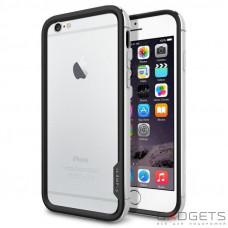 """Spigen Case Neo Hybrid EX Series Satin Silver for iPhone 6 4.7"""" (SGP11026)"""