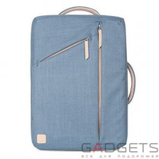 Рюкзак Moshi Venturo Slim Laptop Backpack Steel Blue (99MO077511)
