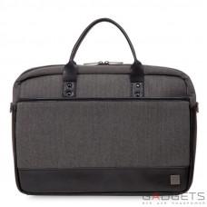 Сумка для ноутбука Knomo Princeton Laptop Briefcase 15.6'' Grey (KN-43-201-BKG)