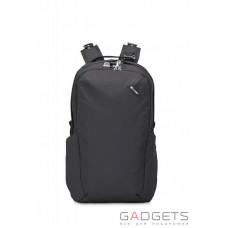 Рюкзак формат Midi антивор Pacsafe Vibe 25, 5 степеней защиты, черный
