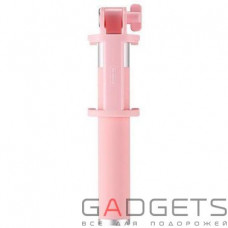 Селфи-палка WK Bluetooth Selfie Stick Pink (WT-P02)