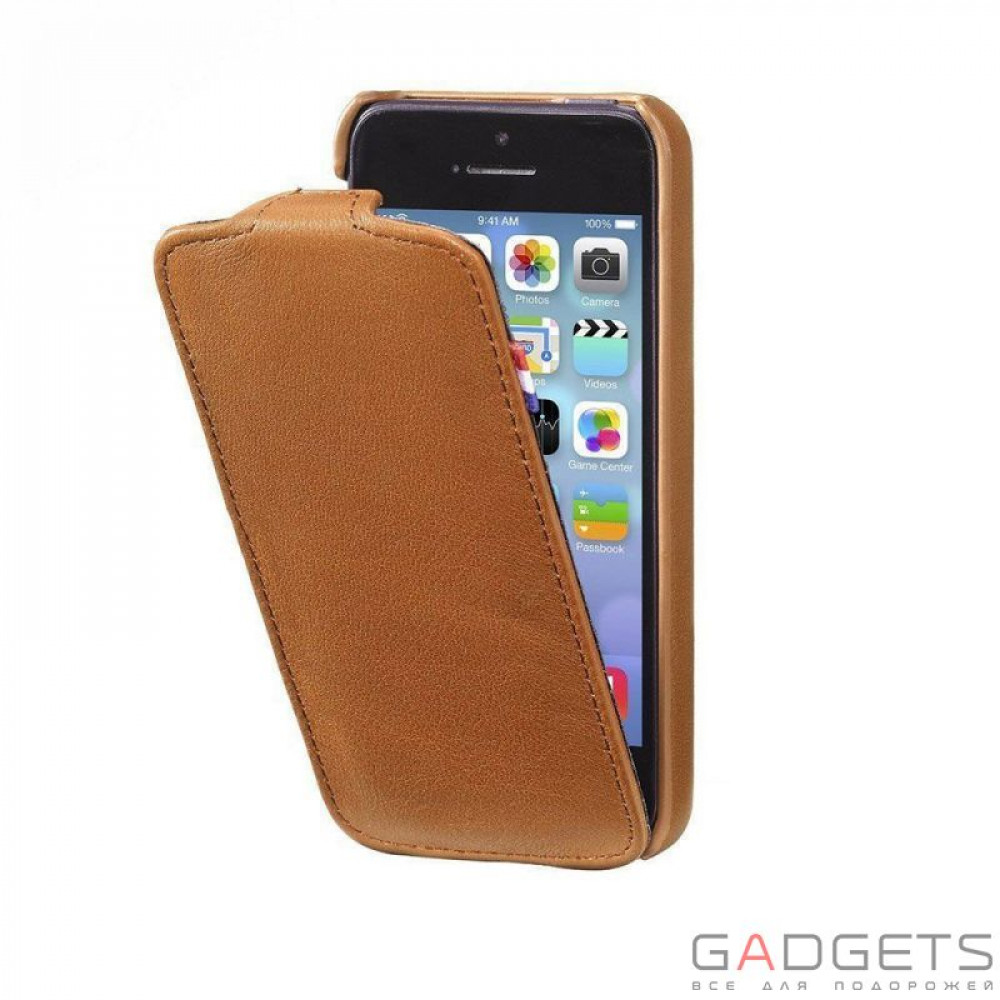 Фото Чехол Decoded Leather Flip Case for iPhone 5 / 5s (D3IPO5FC1BNCV)