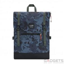Рюкзак анти-вор Pacsafe Slingsafe LX450 серый камуфляж