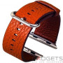 Ремінець COTEetCI Apple w1 watch Band для Premier 42mm Brown фото 0