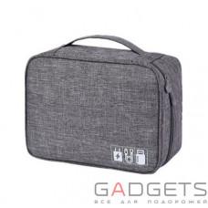 Дорожный органайзер для аксессуаров Travelty Basics L Grey (TR-BL-GR)