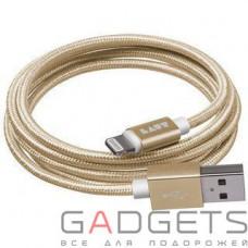 Кабель для передачи данных Laut Charge/Sync Cables Gold (LAUT_LKM_LTN1.2_GD)
