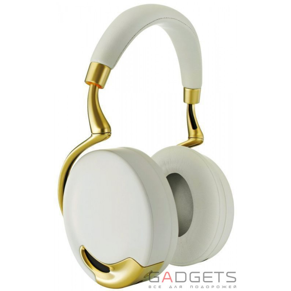 Фото Навушники Parrot Zik by Starck (Yellow Gold)