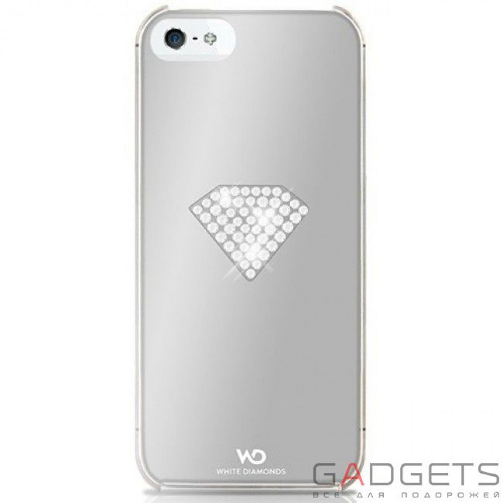 Фото Чехол-накладка White Diamonds Rainbow Silver for iPhone 5/5S (1210RAI45)