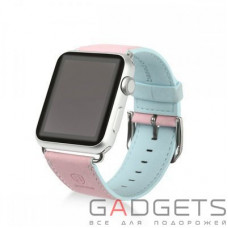 Ремінець Baseus Colorful Watchband для Apple watch 38mm Pink-blue