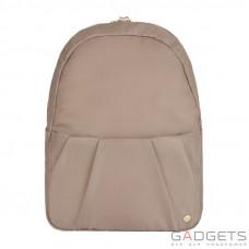 Женский рюкзак трансформер антивор Pacsafe Citysafe CX Covertible Backpack, 6 степеней защиты, коричневый