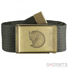 Ремень Fjallraven Canvas Brass Belt 4cm Mountain Grey (77297.032)