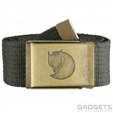Ремінь Fjallraven Canvas Brass Belt 4cm Mountain Grey (77297.032)