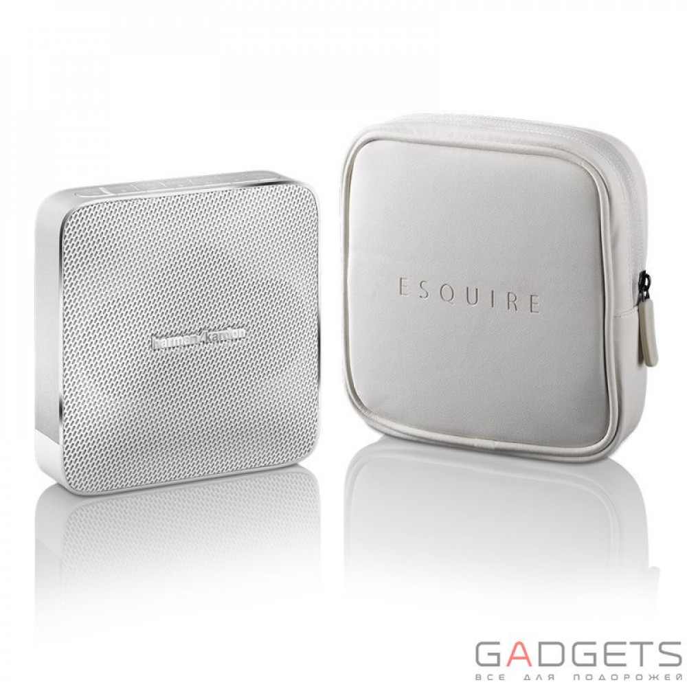 Фото Harman Kardon Portable Wireless Speaker Esquire White (HKESQUIREWHTEU)
