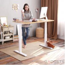 Стол с электрической регулировкой высоты Loctek ET203 White
