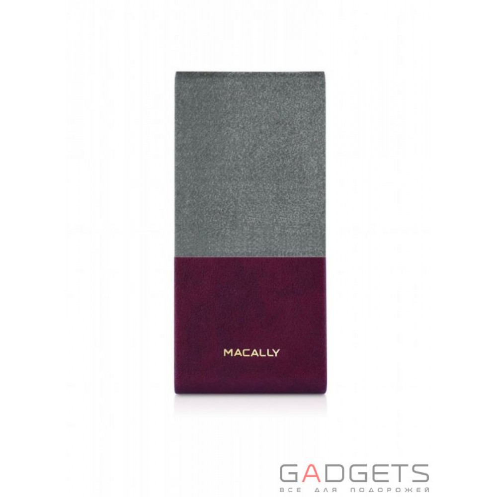Фото Чехол Macally Flip Case with Rotatable Stand for iPhone 5C (SSTANDP6-BU)