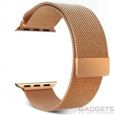 Ремешок Baseus Milanese Watchband для Apple watch 38mm Rose gold