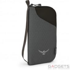 Кошелек Osprey Document Zip Wallet Black O/S, черный