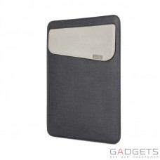 Чехол-карман Moshi Muse 12 Microfiber Sleeve Case Graphite Black for MacBook 12 (99MO034003)