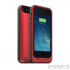 Mophie Juice Pack Air Case Red 1700 mAh for iPhone 5/5S (2387-JPA-IP5-RED-I)