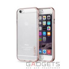 Чохол Laut Exo-Frame Aluminium bampers для iPhone 6 Plus / 6s Plus Rose Gold (LAUT_IP6P_EX_RG)