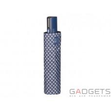 Зонт складной женский Perletti Technology Цветы Голубой (21608;5010)
