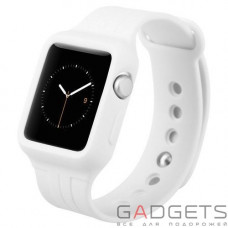 Ремінець Baseus Fresh-Color Plus Series Sports Watchband для Apple watch 42mm White