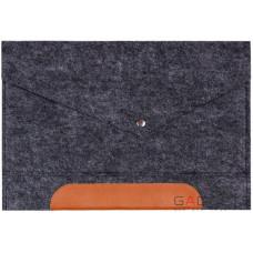 Фетровый чехол-конверт Gmakin для Macbook 13 new (GM11-13New)