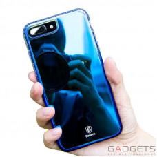 Чехол Baseus Glaze Case iPhone 7 Plus Blue