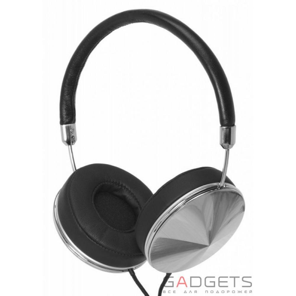 Фото Наушники Frends Taylor Over-Ear Headphones Leather Black / Silver (010899)