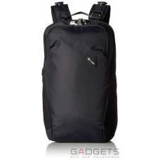 Рюкзак антивор Pacsafe Vibe 20, 5 степеней защиты, черный