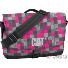 Сумка для ноутбука CAT Millennial Розовый в клетку (83111;197)