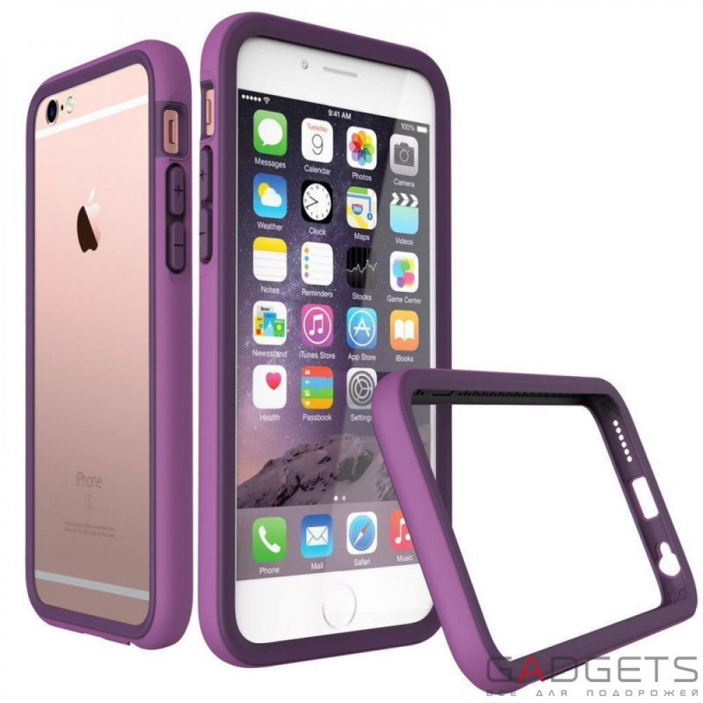 Фото Бампер Rhino Shield Crash Guard Purple для iPhone 6 Plus / 6s Plus