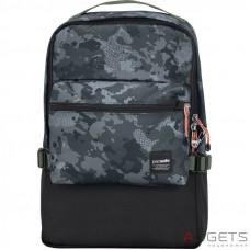 Рюкзак анти-вор Pacsafe Slingsafe LX350 серый камуфляж
