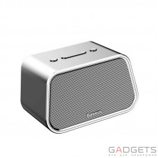 Портативная колонка Baseus Encok Multi-functional wireless speaker E02 Aluminum alloy+U disk/TF card/AUX Silver (NGE02-0S)