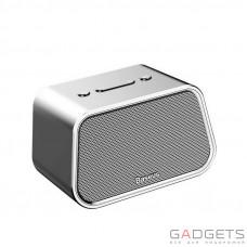 Портативна колонка Baseus Encok Multi-functional wireless speaker E02 Aluminum alloy + U disk  TF card  AUX Silver (NGE02-0S)