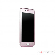 Защитное стекло iBacks Full Screen Tempered Glass for iPhone 6 Plus Pink