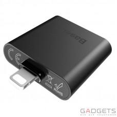 Адаптер Baseus IP To Double IP Socket Adapter L39 Black