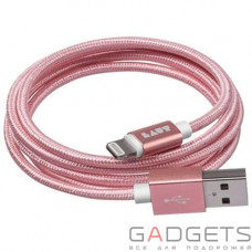 Кабель для передачи данных Laut Charge/Sync Cables Rose Gold (LAUT_LKM_LTN1.2_RG)