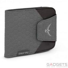 Кошелек Osprey QuickLock RFID Wallet Shadow Grey O/S, серый