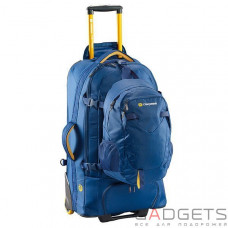 Сумка-рюкзак на колесах Caribee Fast Track 85 Navy