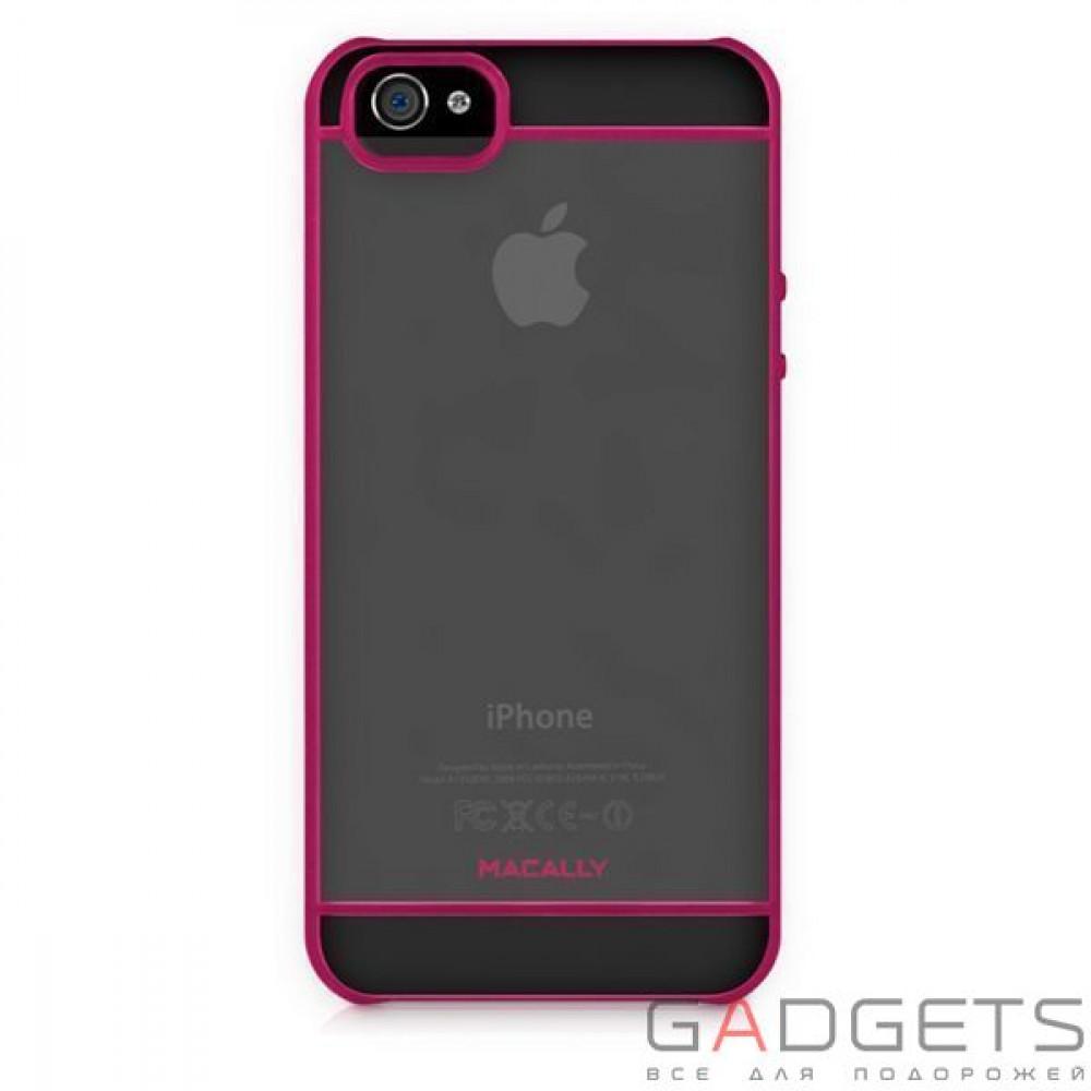 Фото Чехол Macally See-Thru Hard Shell Case for iPhone 5 (CURVEP-P5)