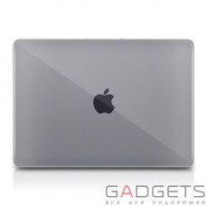 Чехол Macally Hard Shell Protective Case for MacBook Pro 12'' прозрачный (MBSHELL12-C)