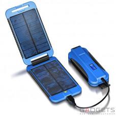Вологостійка сонячна батарея Powermonkey Extreme 9000 mAh BLUE