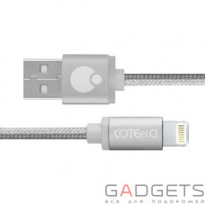 Кабель COTEetCI M30i Lightning Cable 1.2m Space Gray
